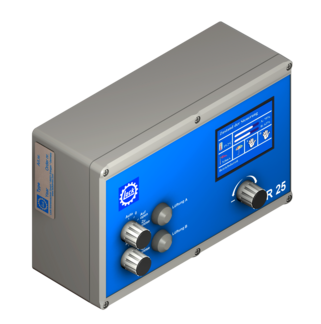 Lock downloads for LSR 25 control units