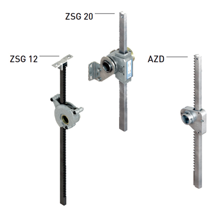 Lock Glass construction ZSG12 and ZSG20