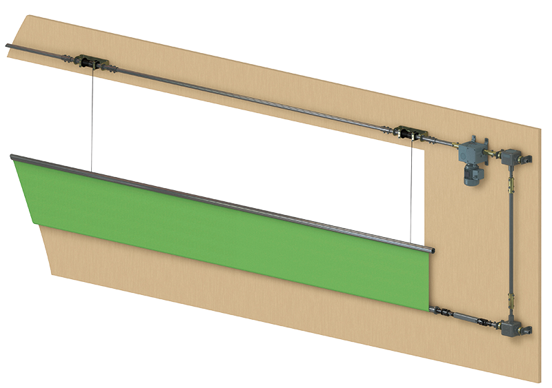 VariVent® TF Central tube   Lock